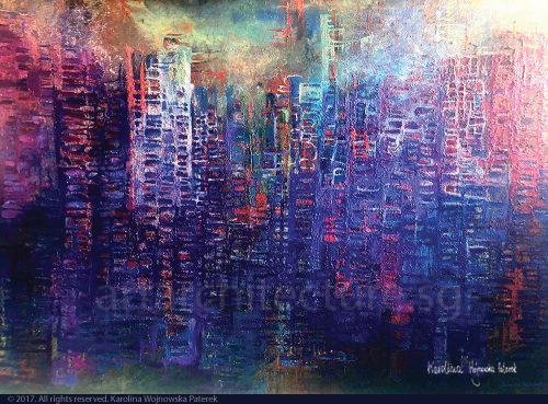 00Asian_Landscape_oil on canvas_176x110_Karolina Paterek